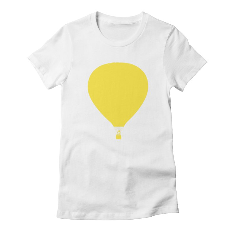 REMIND Balloon B Women's Fitted T-Shirt by Spaceboy Books LLC's Artist Shop