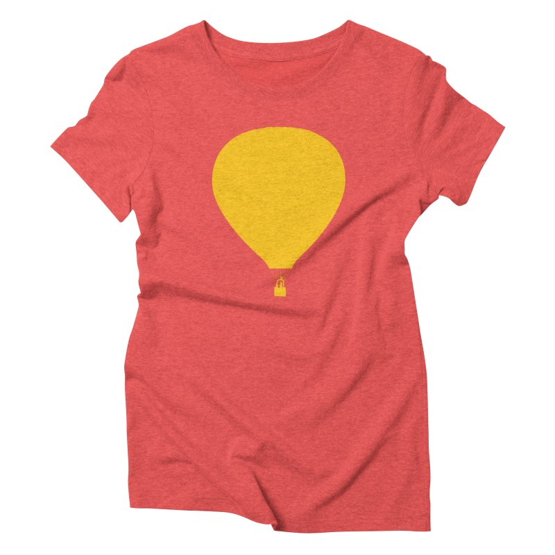 REMIND Balloon B Women's Triblend T-Shirt by Spaceboy Books LLC's Artist Shop