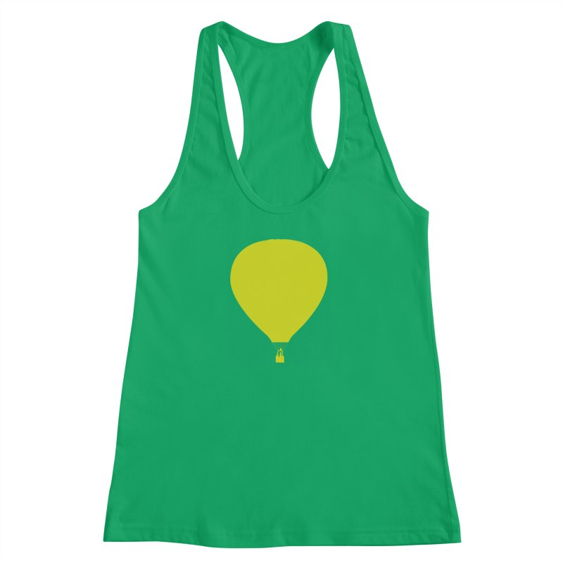 REMIND Balloon B Women's Racerback Tank by Spaceboy Books LLC's Artist Shop