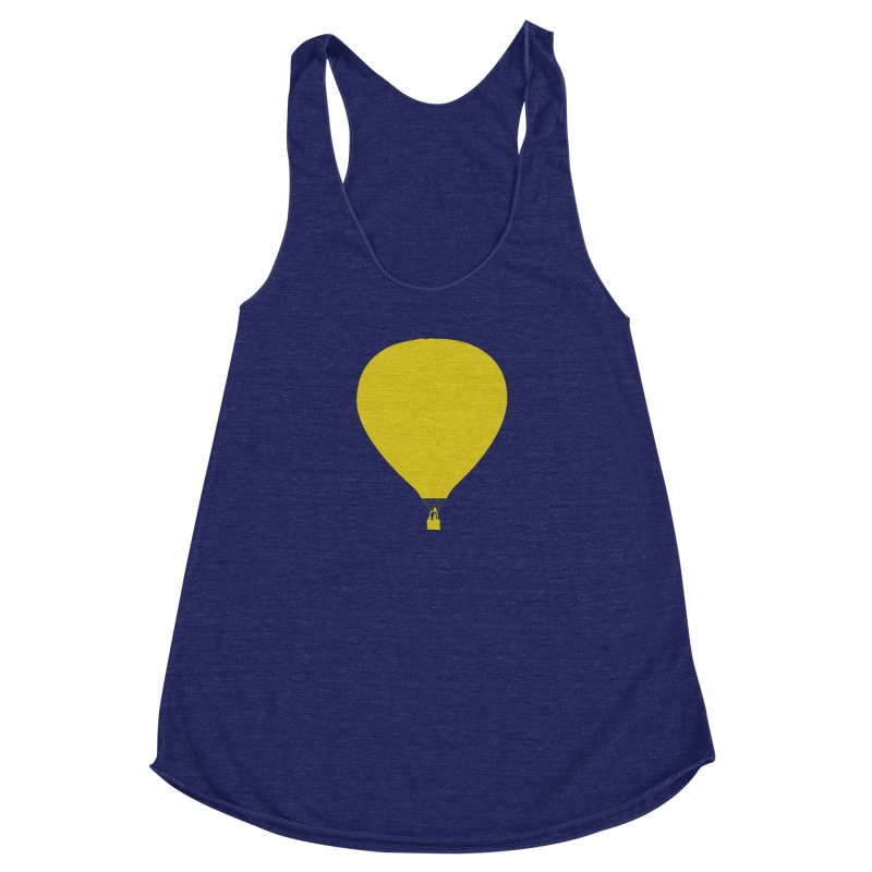 REMIND Balloon B Women's Racerback Triblend Tank by Spaceboy Books LLC's Artist Shop