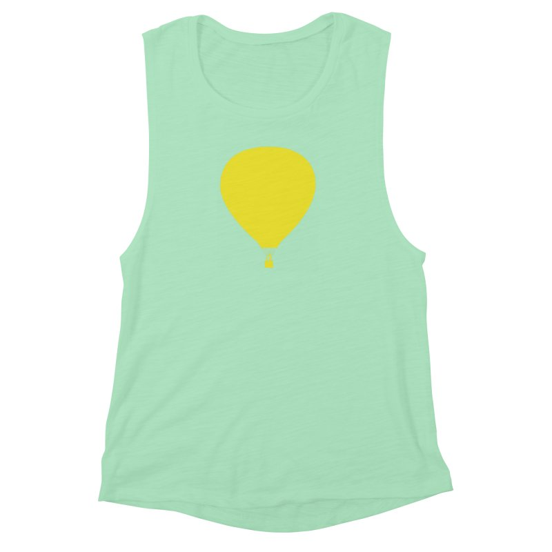 REMIND Balloon B Women's Muscle Tank by Spaceboy Books LLC's Artist Shop