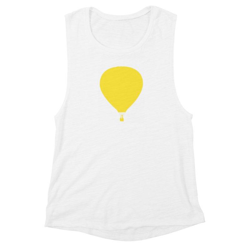 REMIND Balloon B Women's Muscle Tank by Spaceboy Books LLC's Artist Shop