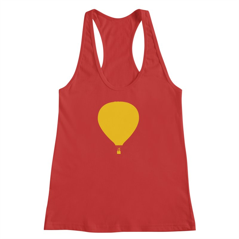REMIND Balloon B Women's Racerback Tank by Spaceboy Books LLC's Artist Shop