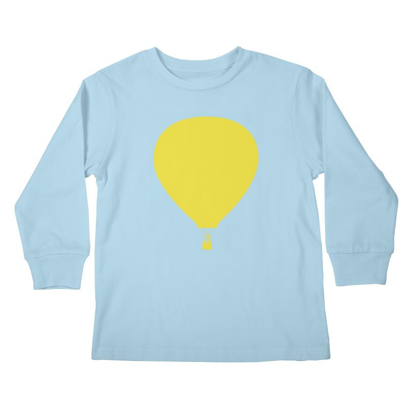 REMIND Balloon B Kids Longsleeve T-Shirt by Spaceboy Books LLC's Artist Shop