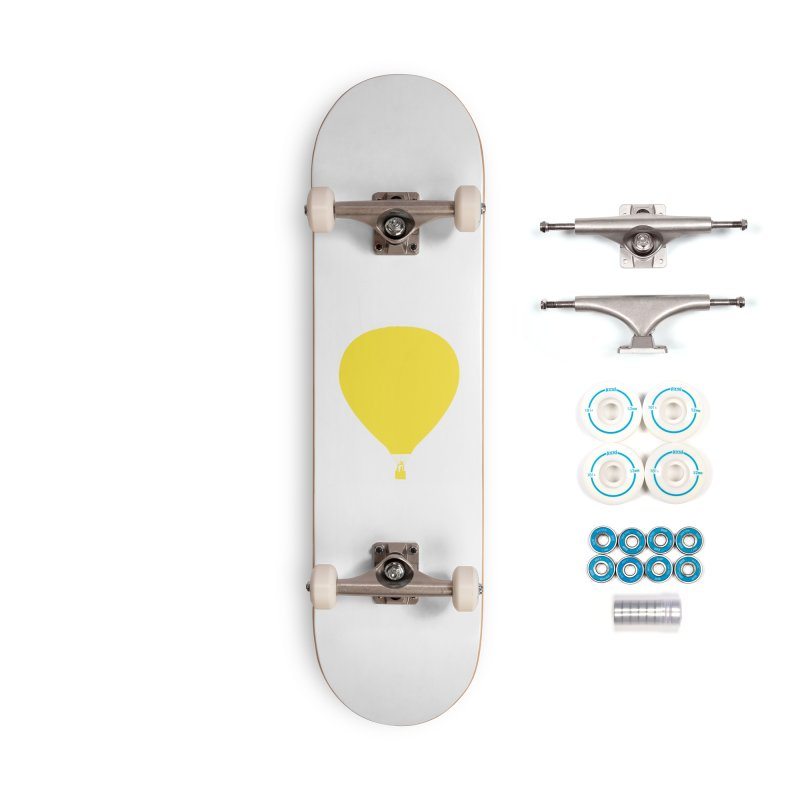 REMIND Balloon B Accessories Complete - Basic Skateboard by Spaceboy Books LLC's Artist Shop