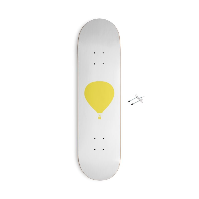 REMIND Balloon B Accessories With Hanging Hardware Skateboard by Spaceboy Books LLC's Artist Shop