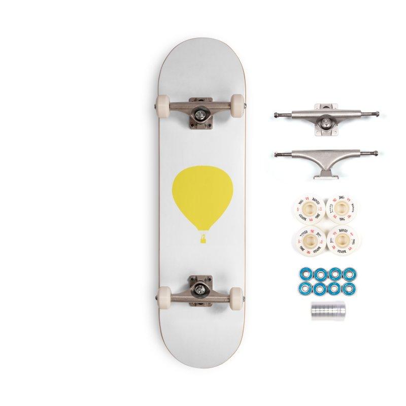 REMIND Balloon B Accessories Complete - Premium Skateboard by Spaceboy Books LLC's Artist Shop