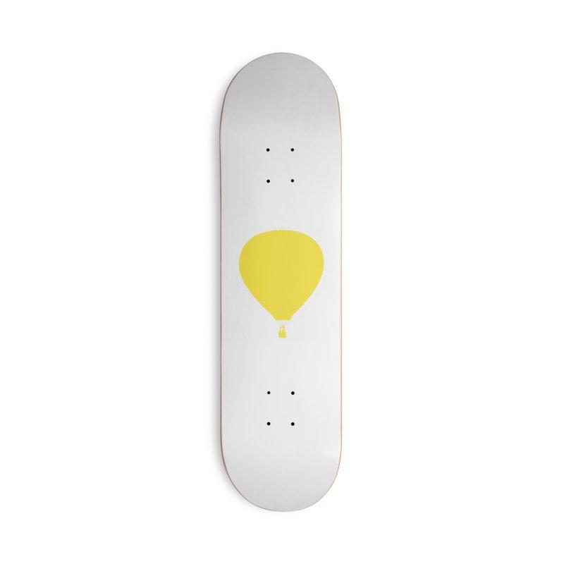 REMIND Balloon B Accessories Deck Only Skateboard by Spaceboy Books LLC's Artist Shop