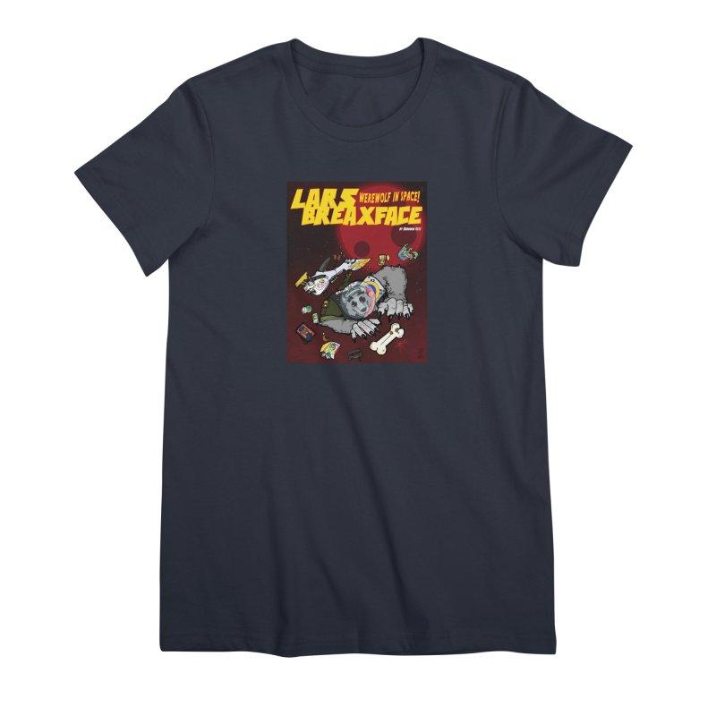 Lars Breaxface Cover - Brian Gonnella Women's Premium T-Shirt by Spaceboy Books LLC's Artist Shop