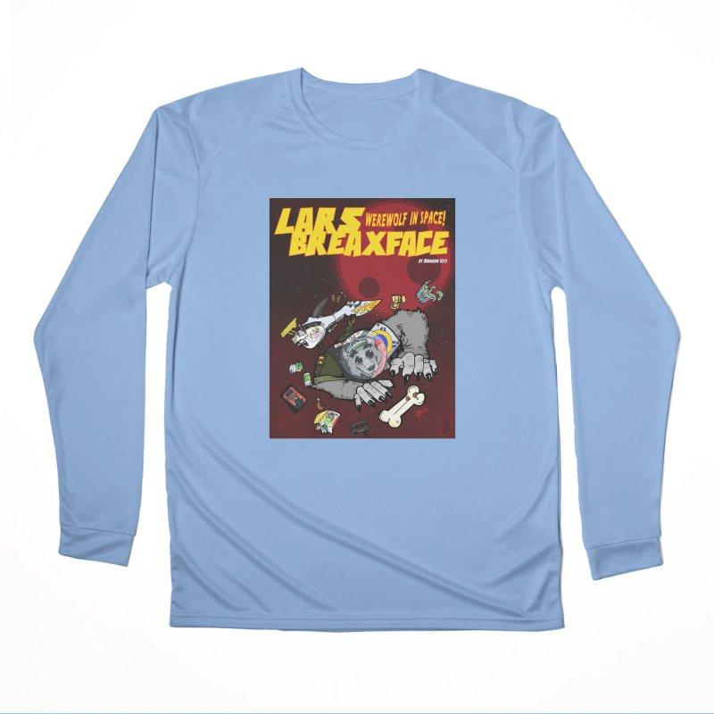 Lars Breaxface Cover - Brian Gonnella Men's Performance Longsleeve T-Shirt by Spaceboy Books LLC's Artist Shop
