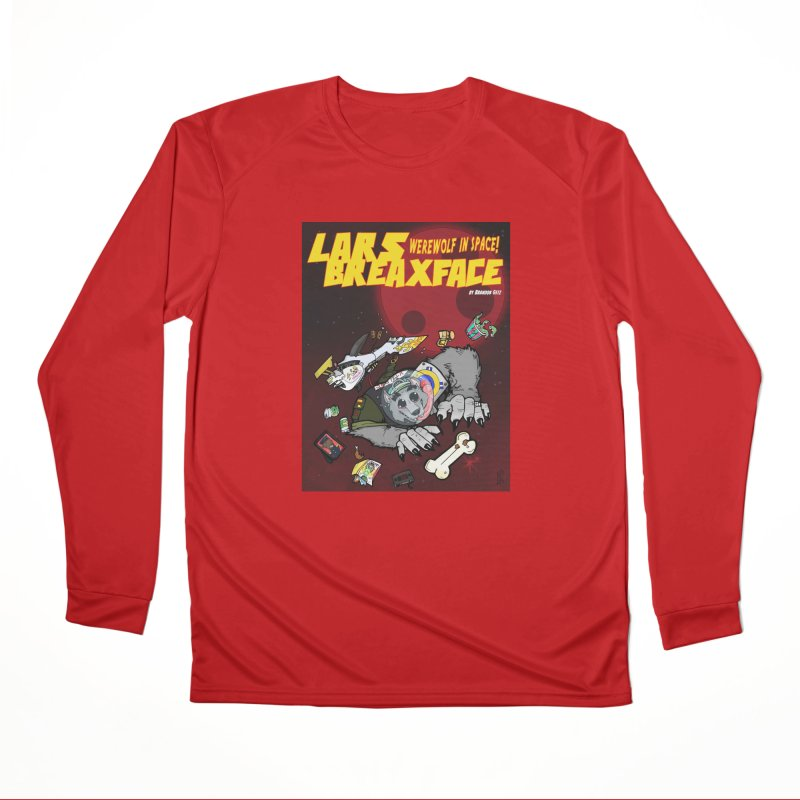 Lars Breaxface Cover - Brian Gonnella Men's Performance Longsleeve T-Shirt by Spaceboy Books LLC's Artist Shop