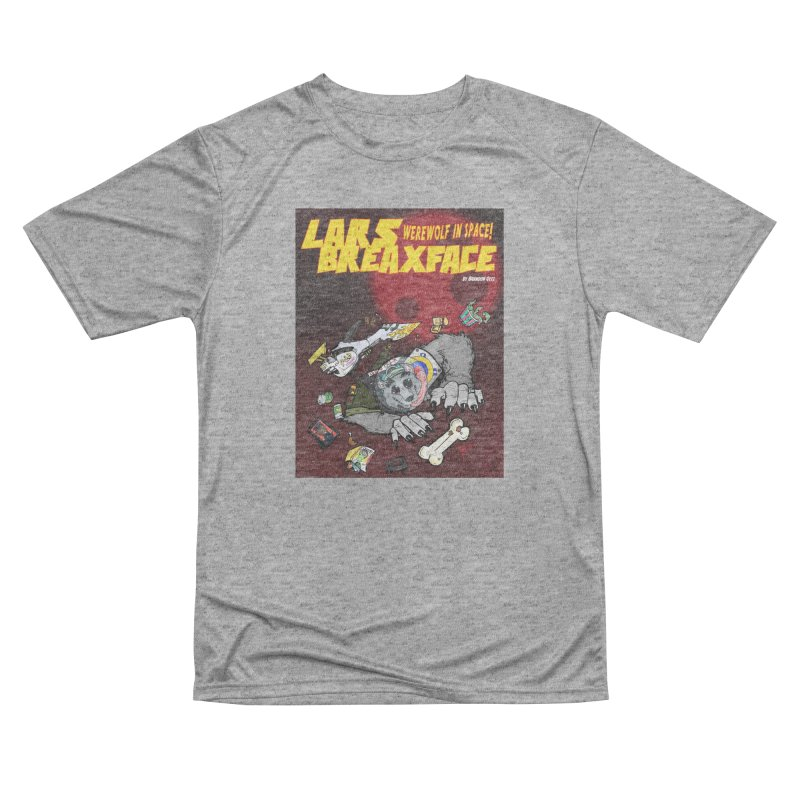 Lars Breaxface Cover - Brian Gonnella Women's Performance Unisex T-Shirt by Spaceboy Books LLC's Artist Shop