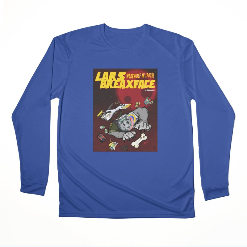 Lars Breaxface Cover - Brian Gonnella Women's Performance Unisex Longsleeve T-Shirt by Spaceboy Books LLC's Artist Shop