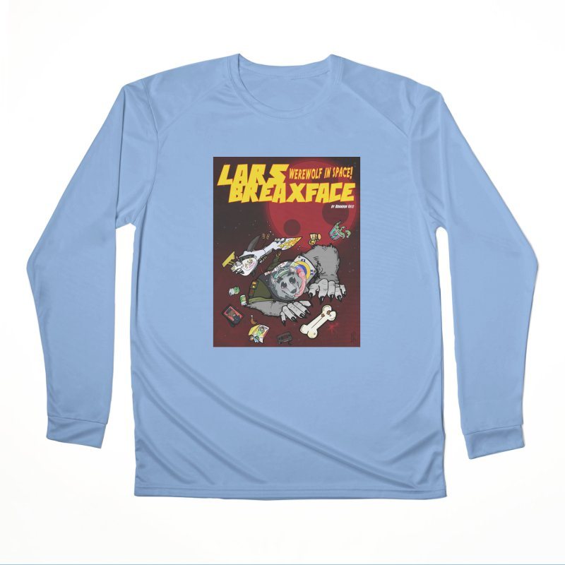 Lars Breaxface Cover - Brian Gonnella Women's Performance Unisex Longsleeve T-Shirt by Spaceboy Books LLC's Artist Shop