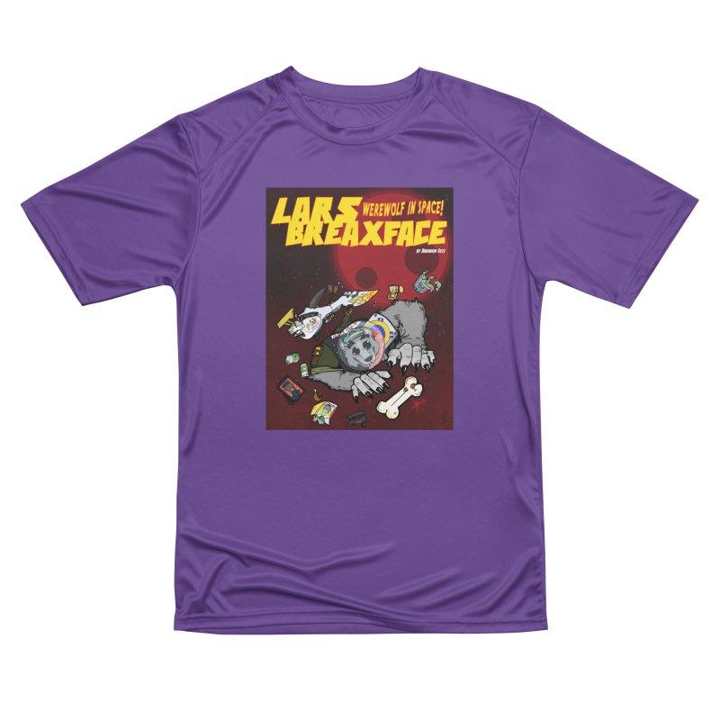 Lars Breaxface Cover - Brian Gonnella Men's Performance T-Shirt by Spaceboy Books LLC's Artist Shop