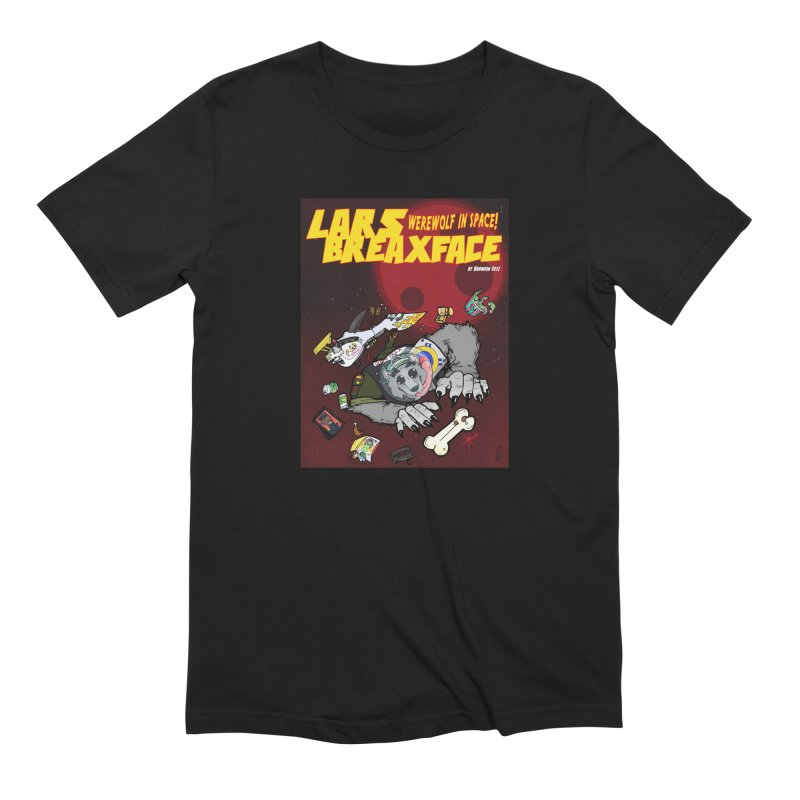 Lars Breaxface Cover - Brian Gonnella Men's Extra Soft T-Shirt by Spaceboy Books LLC's Artist Shop