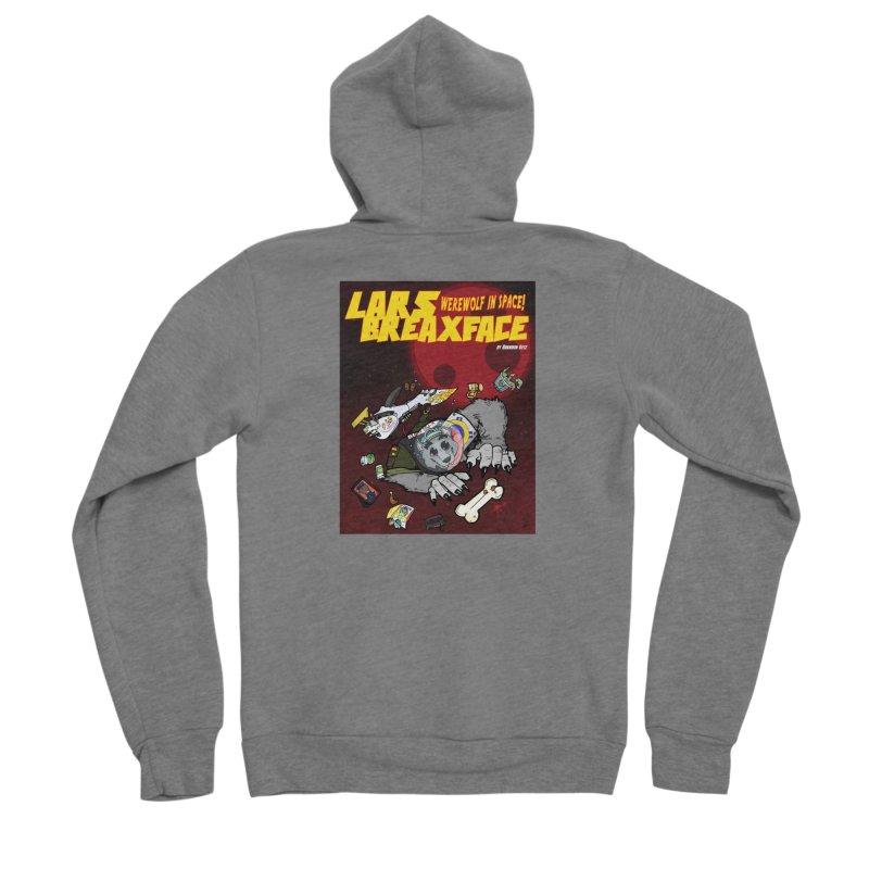 Lars Breaxface Cover - Brian Gonnella Women's Sponge Fleece Zip-Up Hoody by Spaceboy Books LLC's Artist Shop