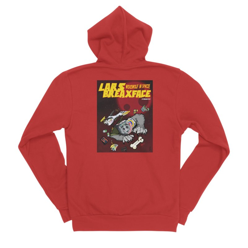 Lars Breaxface Cover - Brian Gonnella Women's Zip-Up Hoody by Spaceboy Books LLC's Artist Shop