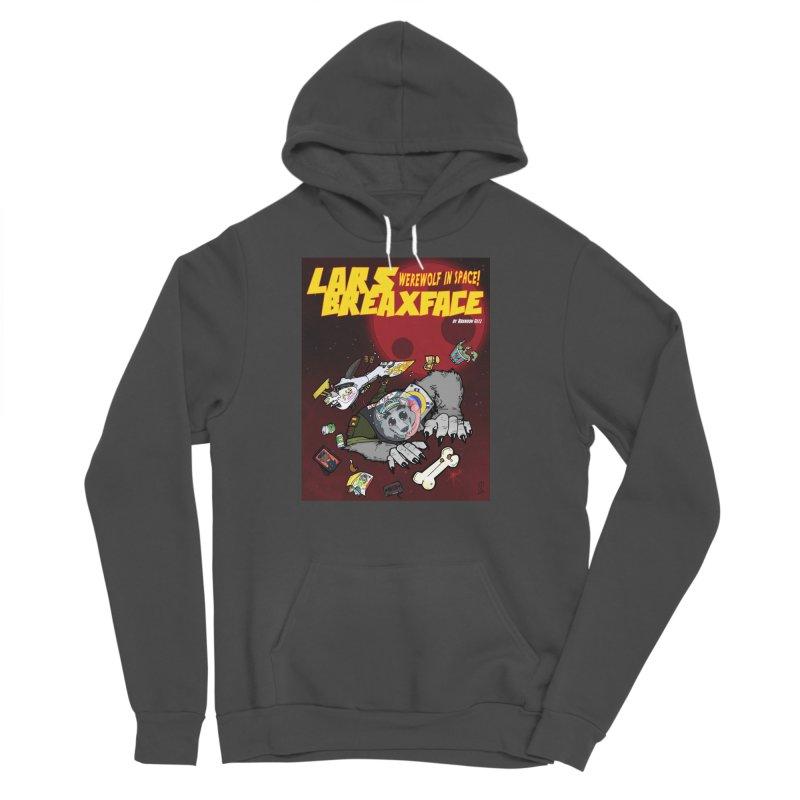 Lars Breaxface Cover - Brian Gonnella Men's Sponge Fleece Pullover Hoody by Spaceboy Books LLC's Artist Shop