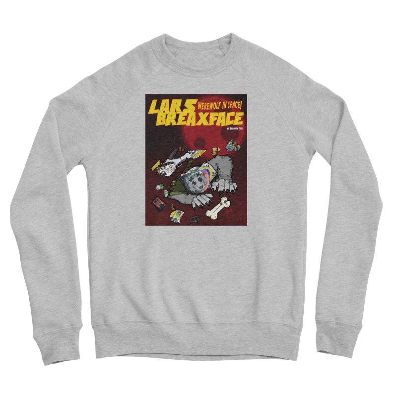Lars Breaxface Cover - Brian Gonnella Women's Sponge Fleece Sweatshirt by Spaceboy Books LLC's Artist Shop