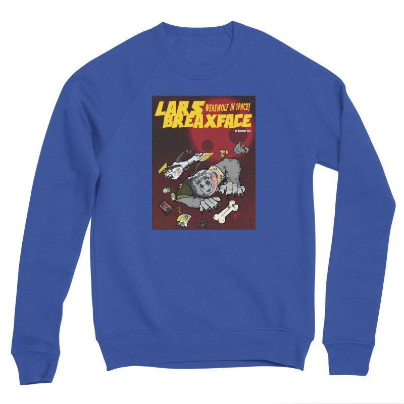Lars Breaxface Cover - Brian Gonnella Men's Sponge Fleece Sweatshirt by Spaceboy Books LLC's Artist Shop