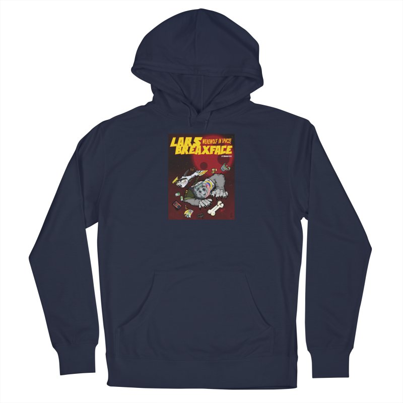 Lars Breaxface Cover - Brian Gonnella Men's Pullover Hoody by Spaceboy Books LLC's Artist Shop