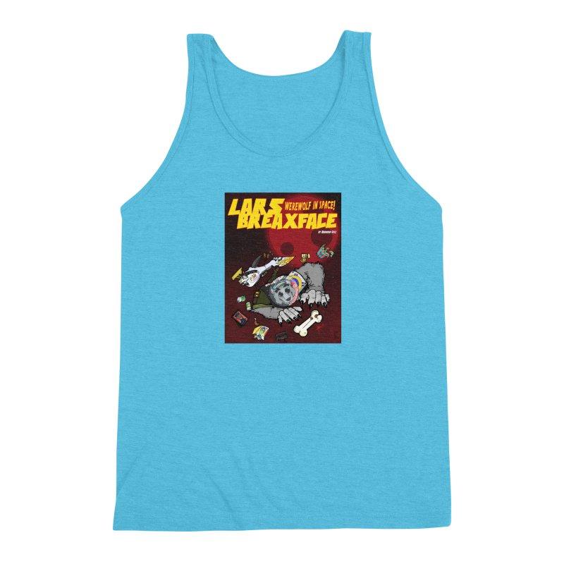 Lars Breaxface Cover - Brian Gonnella Men's Triblend Tank by Spaceboy Books LLC's Artist Shop