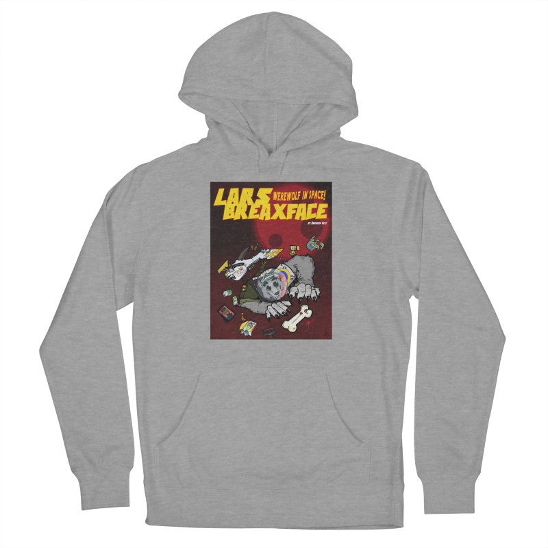 Lars Breaxface Cover - Brian Gonnella Women's French Terry Pullover Hoody by Spaceboy Books LLC's Artist Shop