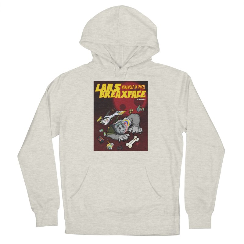 Lars Breaxface Cover - Brian Gonnella Men's French Terry Pullover Hoody by Spaceboy Books LLC's Artist Shop