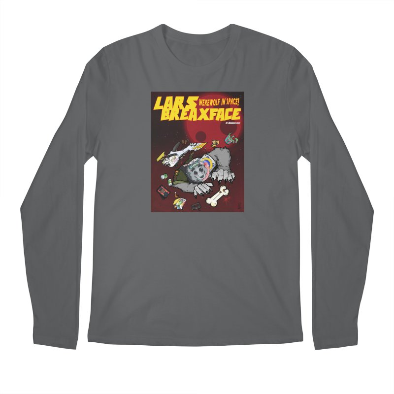 Lars Breaxface Cover - Brian Gonnella Men's Longsleeve T-Shirt by Spaceboy Books LLC's Artist Shop