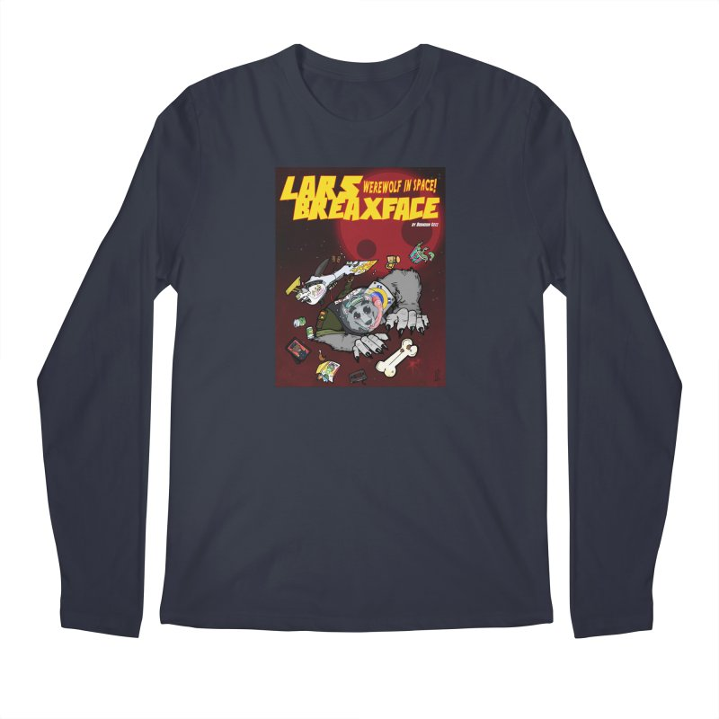 Lars Breaxface Cover - Brian Gonnella Men's Regular Longsleeve T-Shirt by Spaceboy Books LLC's Artist Shop