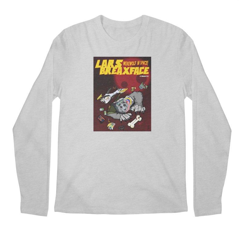 Lars Breaxface Cover - Brian Gonnella Men's Regular Longsleeve T-Shirt by Spaceboy Books LLC's Artist Shop