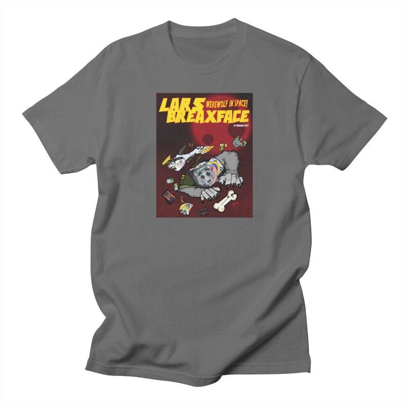 Lars Breaxface Cover - Brian Gonnella Men's T-Shirt by Spaceboy Books LLC's Artist Shop