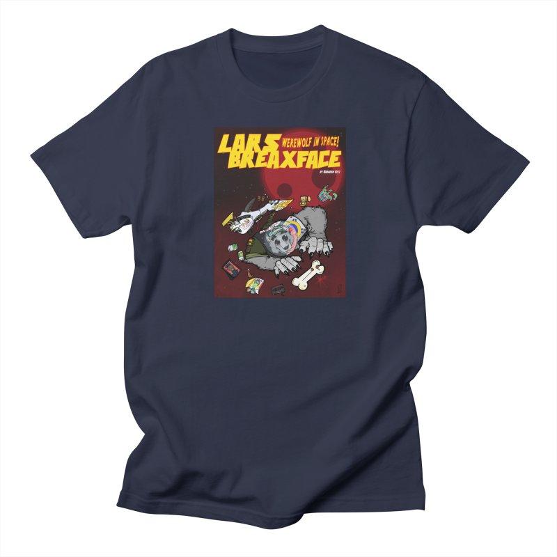 Lars Breaxface Cover - Brian Gonnella Men's Regular T-Shirt by Spaceboy Books LLC's Artist Shop