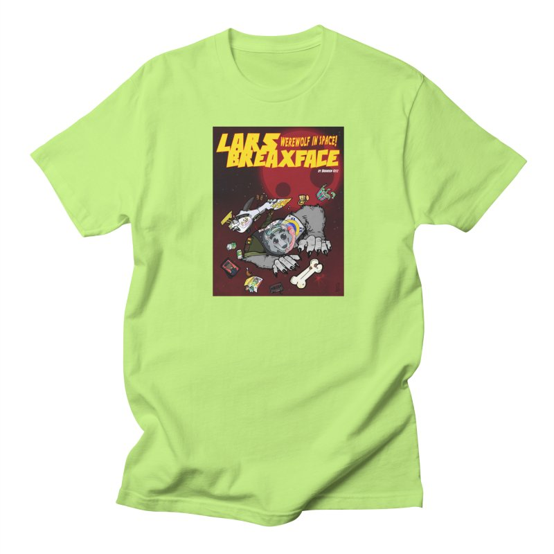 Lars Breaxface Cover - Brian Gonnella Men's Regular T-Shirt by Spaceboy Books LLC's Artist Shop