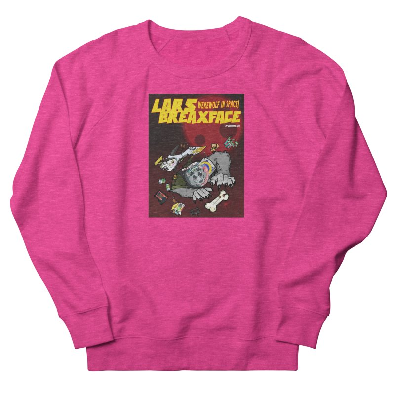 Lars Breaxface Cover - Brian Gonnella Women's French Terry Sweatshirt by Spaceboy Books LLC's Artist Shop