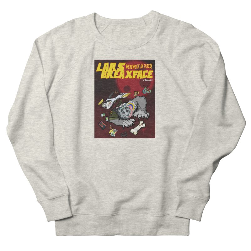Lars Breaxface Cover - Brian Gonnella Men's French Terry Sweatshirt by Spaceboy Books LLC's Artist Shop