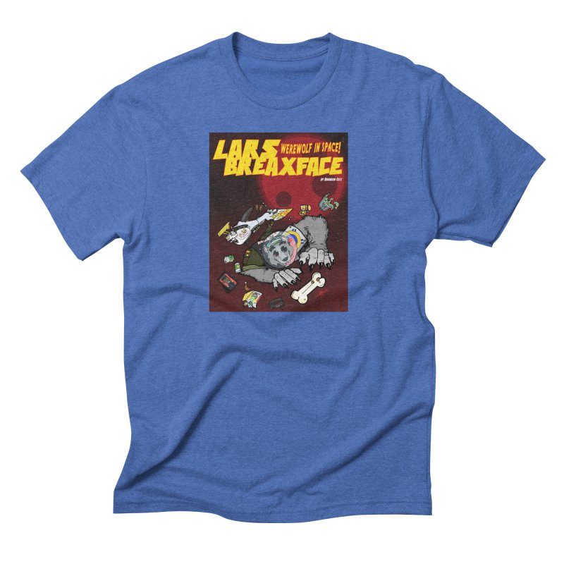 Lars Breaxface Cover - Brian Gonnella Men's T-Shirt by Spaceboy Books LLC's Artist Shop