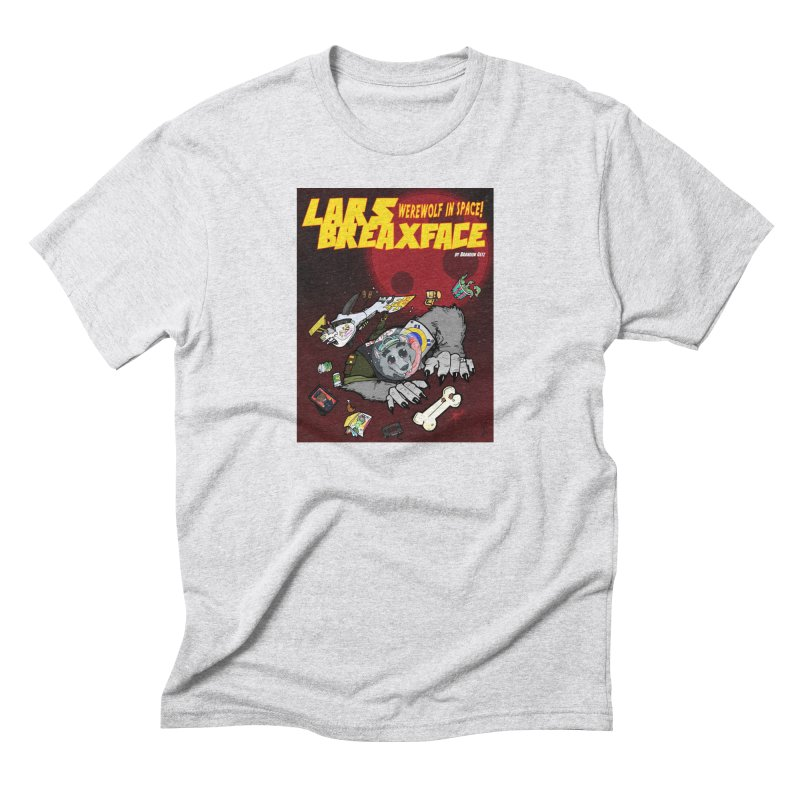 Lars Breaxface Cover - Brian Gonnella Men's Triblend T-Shirt by Spaceboy Books LLC's Artist Shop