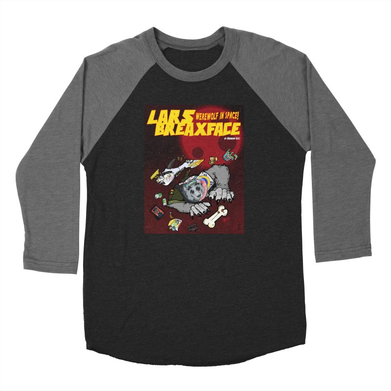 Lars Breaxface Cover - Brian Gonnella Women's Baseball Triblend Longsleeve T-Shirt by Spaceboy Books LLC's Artist Shop