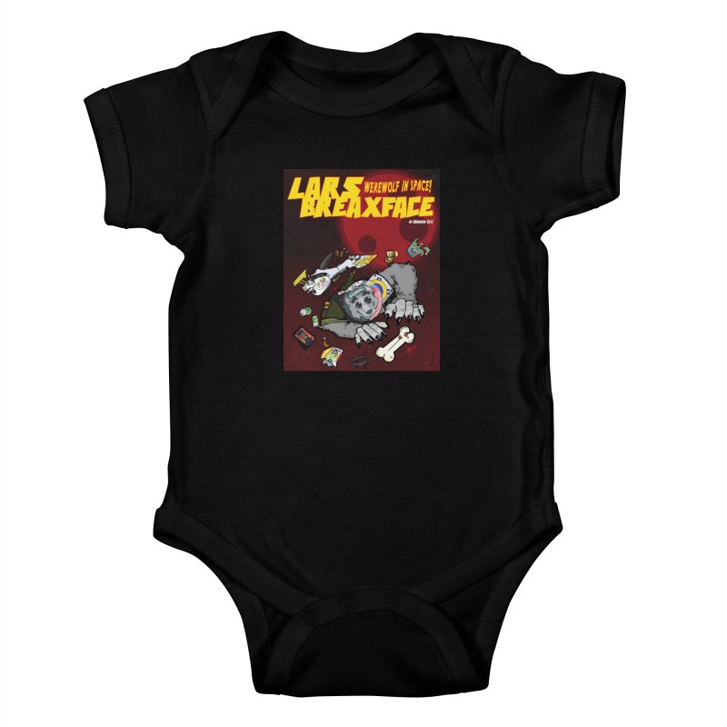 Lars Breaxface Cover - Brian Gonnella Kids Baby Bodysuit by Spaceboy Books LLC's Artist Shop