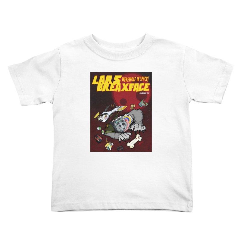 Lars Breaxface Cover - Brian Gonnella Kids Toddler T-Shirt by Spaceboy Books LLC's Artist Shop