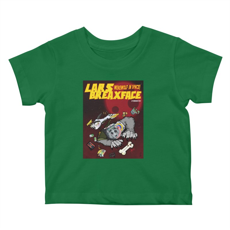 Lars Breaxface Cover - Brian Gonnella Kids Baby T-Shirt by Spaceboy Books LLC's Artist Shop