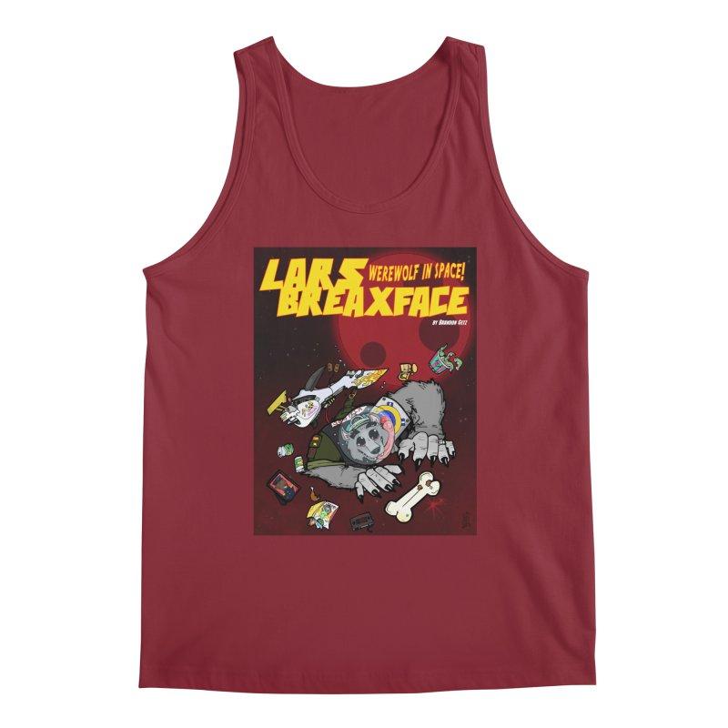 Lars Breaxface Cover - Brian Gonnella Men's Tank by Spaceboy Books LLC's Artist Shop
