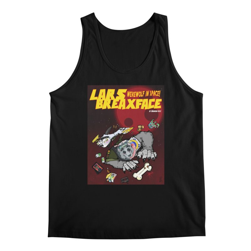 Lars Breaxface Cover - Brian Gonnella Men's Regular Tank by Spaceboy Books LLC's Artist Shop