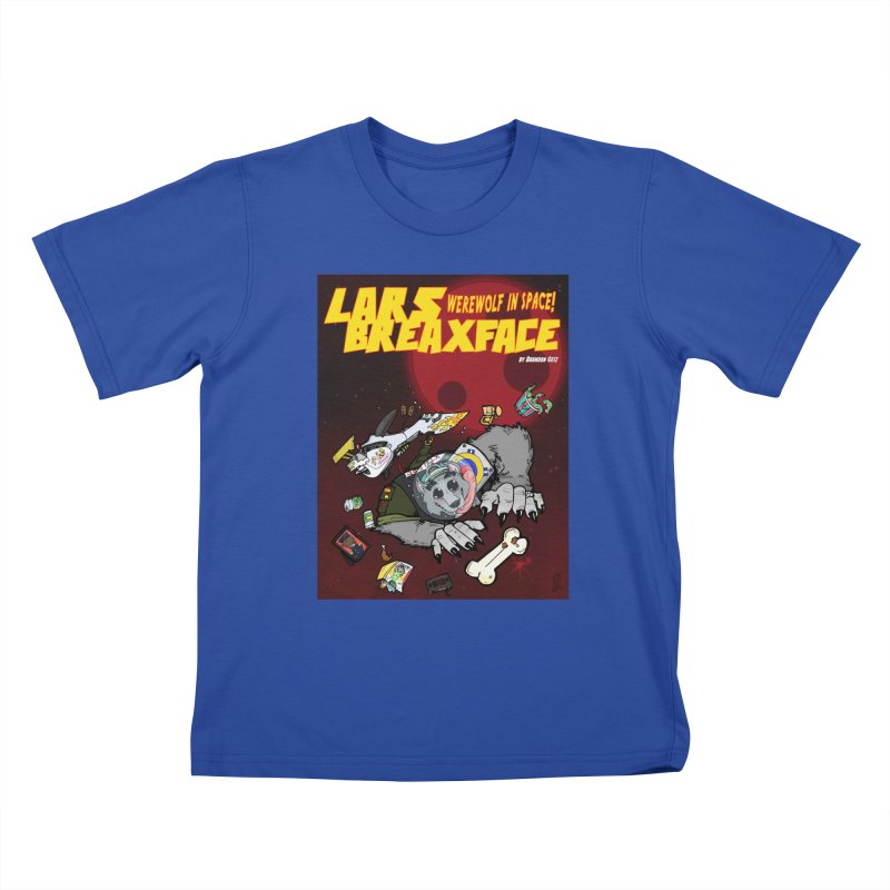 Lars Breaxface Cover - Brian Gonnella Kids T-Shirt by Spaceboy Books LLC's Artist Shop