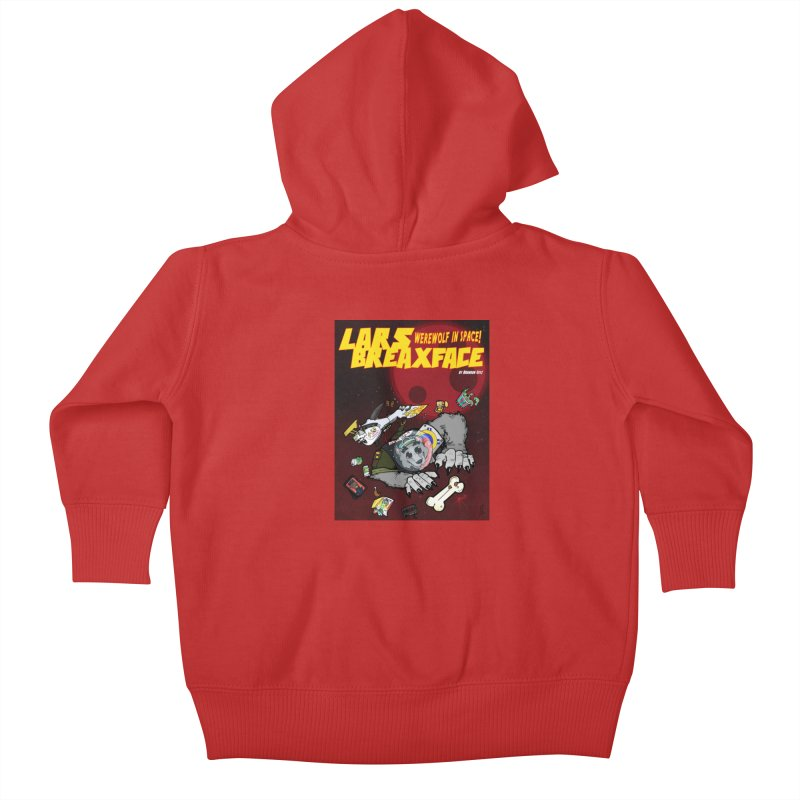 Lars Breaxface Cover - Brian Gonnella Kids Baby Zip-Up Hoody by Spaceboy Books LLC's Artist Shop