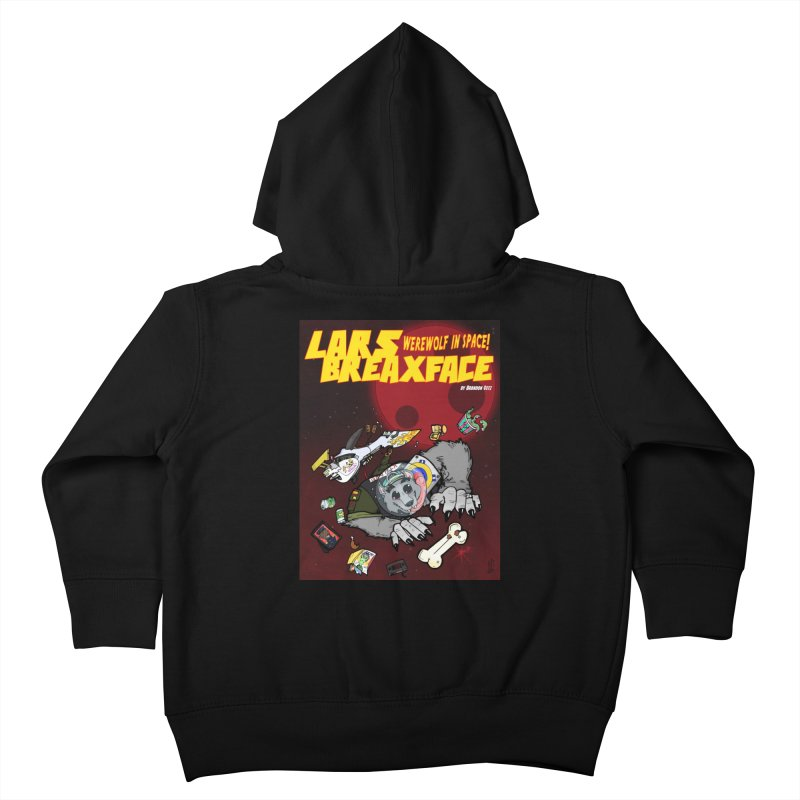 Lars Breaxface Cover - Brian Gonnella Kids Toddler Zip-Up Hoody by Spaceboy Books LLC's Artist Shop