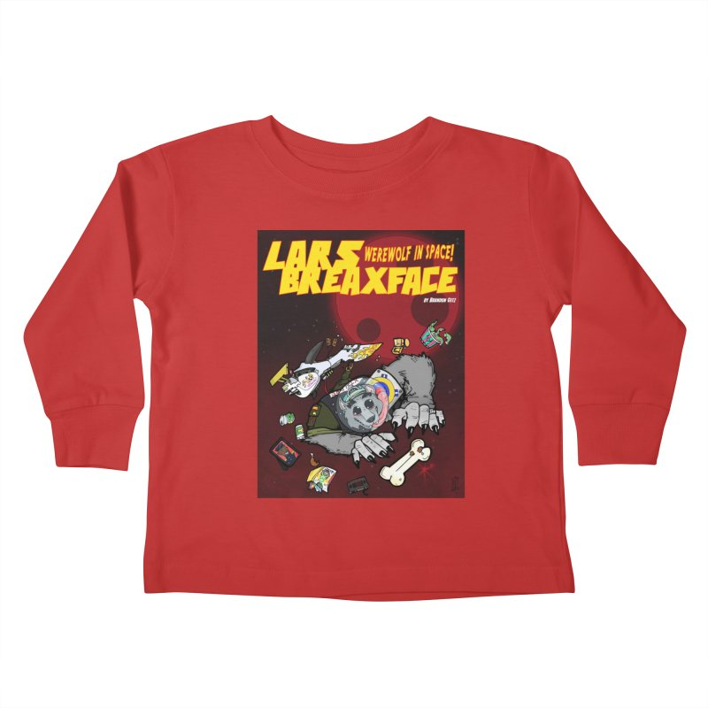 Lars Breaxface Cover - Brian Gonnella Kids Toddler Longsleeve T-Shirt by Spaceboy Books LLC's Artist Shop