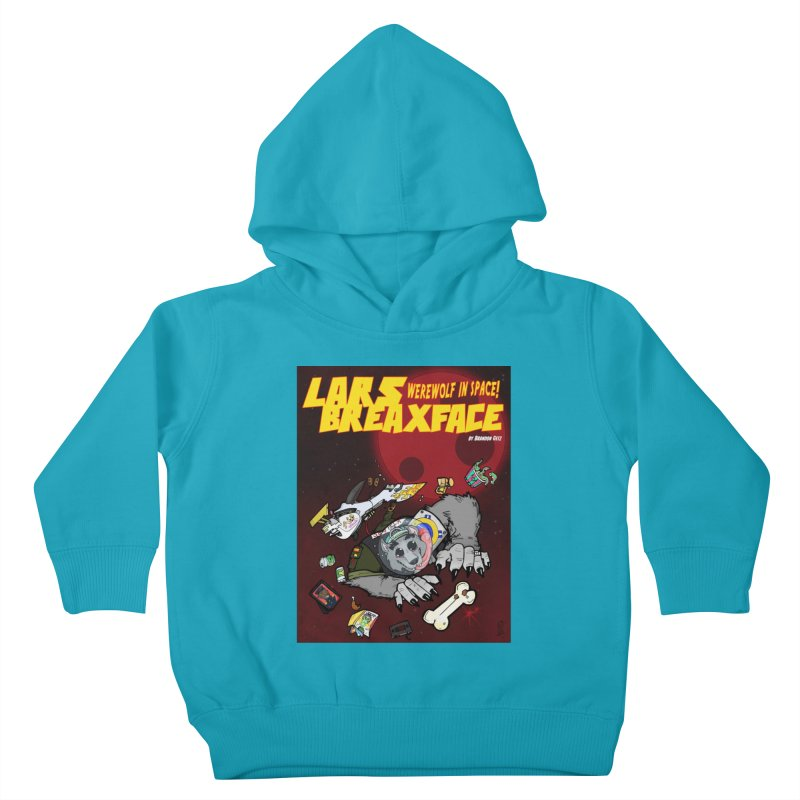 Lars Breaxface Cover - Brian Gonnella Kids Toddler Pullover Hoody by Spaceboy Books LLC's Artist Shop